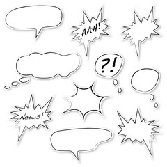 Sprechblasen Comic