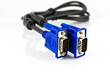 Blue monitor connector