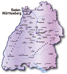 Baden Württemberg UK flieder