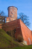 Old castle Wawel poster