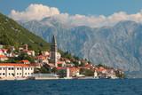 Fototapety Perast city in Montenegro