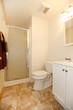 Simple white bathroom
