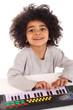 Kind mit Keyboard