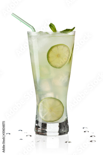 Glass of Limeade