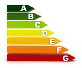 Energy classification - bars isolated on white background - 30638055