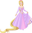 Beautiful princess Rapunzel