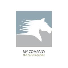 Logo speedy horse # Vector