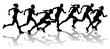 Runners racing - 30644606
