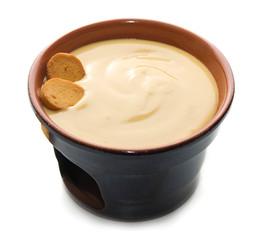 fonduta di fontina con crostini