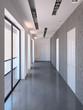 Long modern corridor