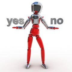Robot yes no