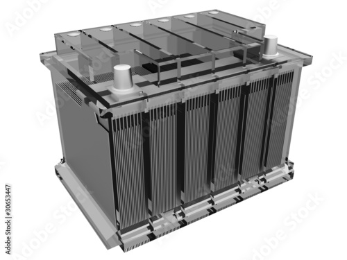 car battery (assembly drawing) - 30653447