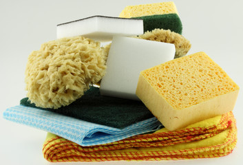nécessaire d'entretien et de propreté pour la maison,