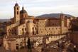 Urbino, Palazzo Ducale, sunset view