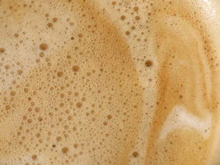 coffee foam
