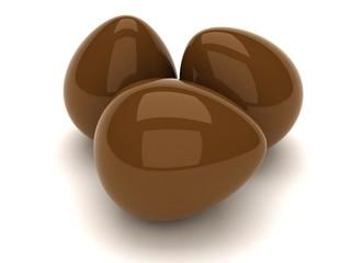 uovo 3d cioccolato