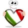 cuore tricolore