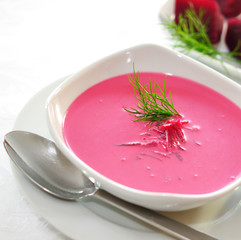 Rote Beete Suppe