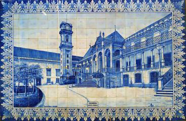 Coimbra, azulejos