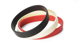 Colorful elastic wrist bands poster