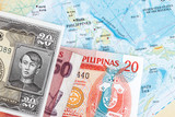 Philippines and  peso