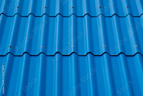 Blue roof texture.