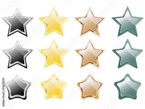 Glossy stars 1
