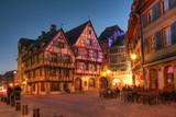 Fairytale houses in Alsace - Colmar, France poster