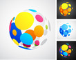 Colored globe