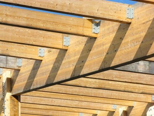 dachbalken dachstuhl stockfotos und lizenzfreie bilder auf bild 30680877. Black Bedroom Furniture Sets. Home Design Ideas