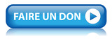 "Bouton Web ""FAIRE UN DON"" (contribution donner de l'argent)"