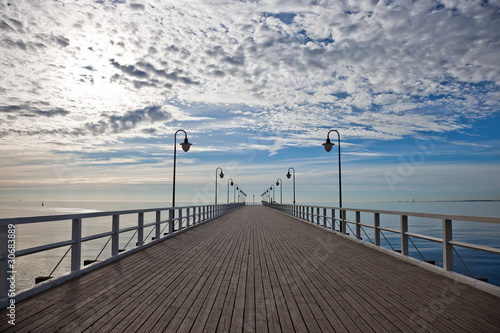 Pier in the morning. Orlowo, Poland.|30683889