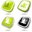 frosch kröte öko zeichen symbol