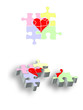 Putting the heart together- 2D & 3D Puzzles