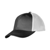 black and white cap with clipping path