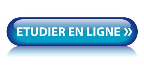 Bouton ETUDIER EN LIGNE (enseignement études par correspondance)