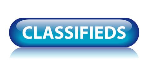 CLASSIFIEDS Web Button (advertisement ads online internet press)