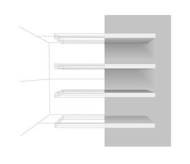 Vector shelves