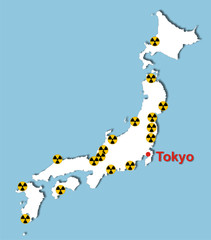 Atomkraftwerke in Japan