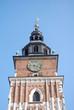 Rathausturm Detail Rynek Glówny