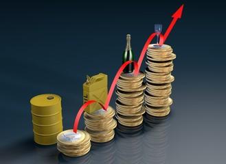 L'andamento del petrolio..the trend of oil