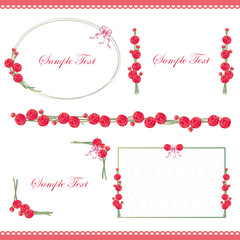 carnation line and frame
