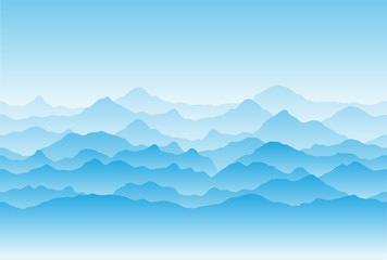 Фантастический горный пейзаж