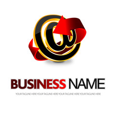 logo mail,freccia
