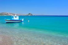 """Постер, картина, фотообои """"Turquoise Mediterranean sea"""""""