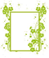 étiquette ecolo vert