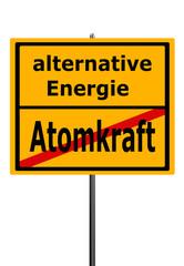 Atomkraft, alternative Energie