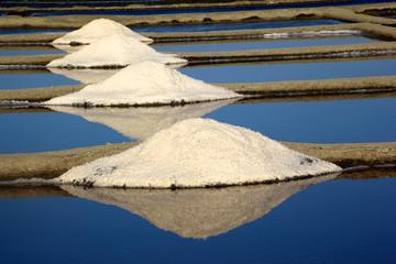 marais salants de guerande tas de sel