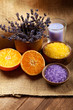 Aromatherapy  - Orange and lavender minerals