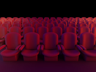 3d Cinema seats